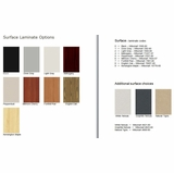 Laminate Options, Review Here, Select Above Right