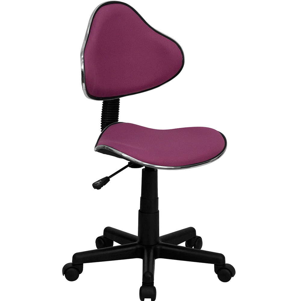<font color=#c60>Save 50% w/Free Shipping!</font> Lavender Fabric Ergonomic Swivel Task Chair BT-699-LAVENDER-GG <font color=#c60>Read More ... </font>