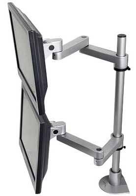 INNOVATIVE DUAL MONITOR MOUNT #9130-D-28-FM. ADD TO CART FOR FREE SHIPPING.</b></font>