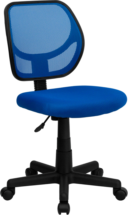 Ergonomic Home Low Back Blue Mesh Swivel Task Chair EH-WA-3074-BL-GG <b><font color=green>50% Off Read More Below...</font></b>