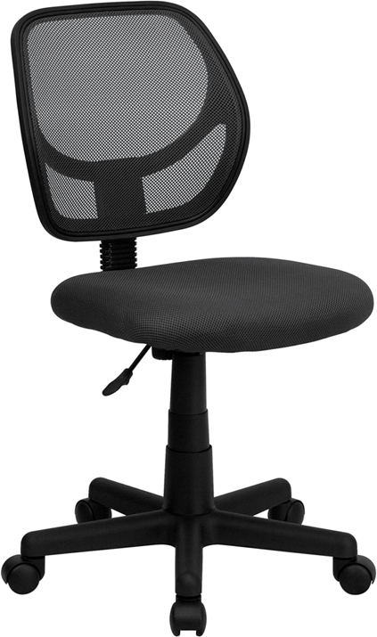 Ergonomic Home Low Back Gray Mesh Swivel Task Chair EH-WA-3074-GY-GG <b><font color=green>50% Off Read More Below...</font></b>