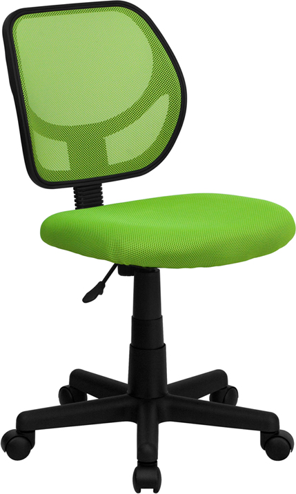 Ergonomic Home Low Back Green Mesh Swivel Task Chair EH-WA-3074-GN-GG <b><font color=green>50% Off Read More Below...</font></b>