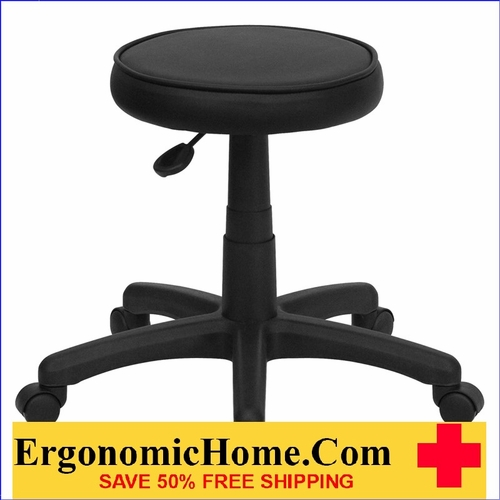 Ergonomic Home Medical Stool With Wheels EH-KC96G-GG .
