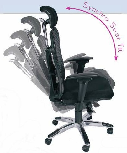 Mesh Executive Chair My Clear Design Dale Breeze Mesh