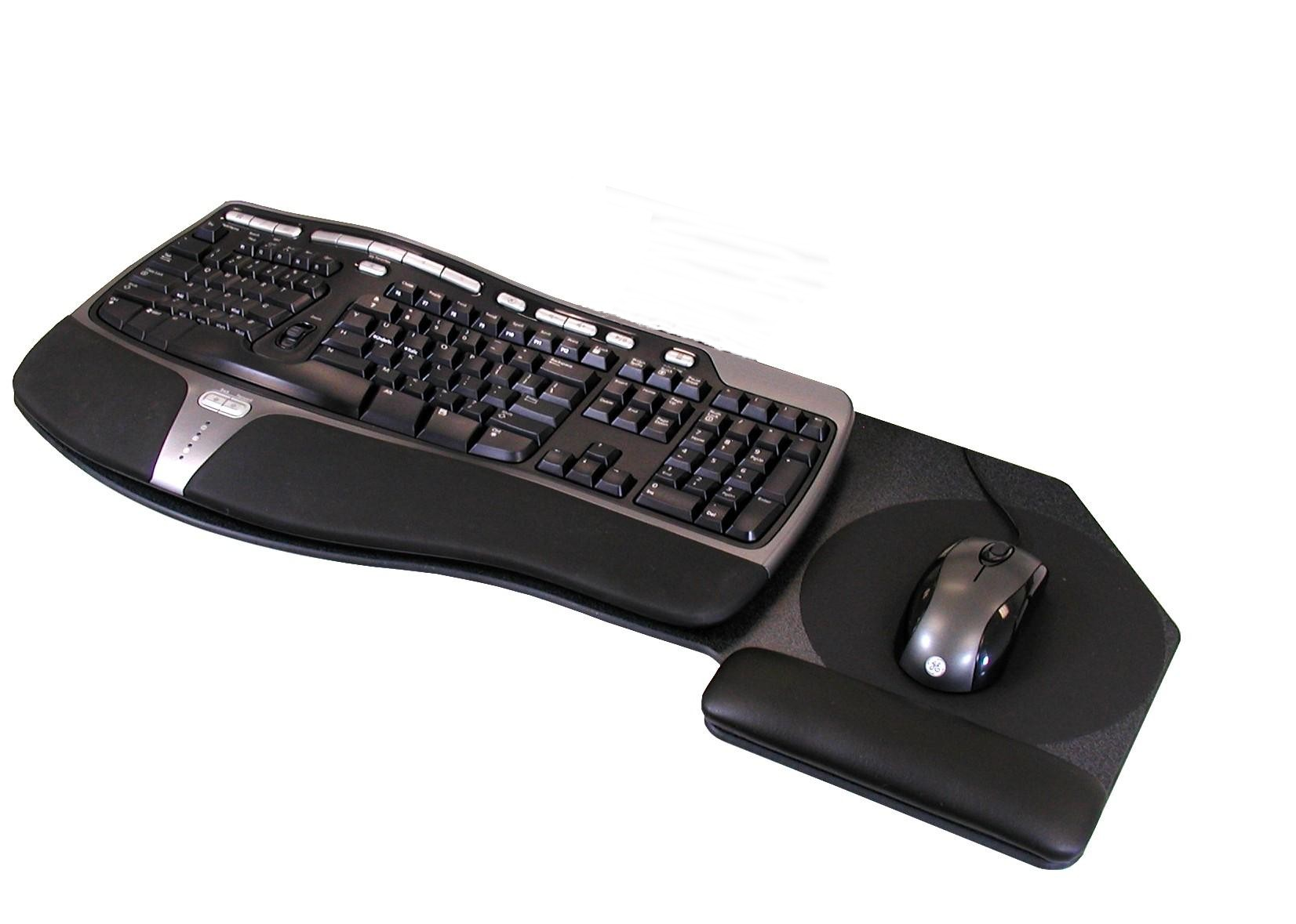 Keyboard Tray #P-29 For Use W/Microsoft Natural Keyboard: