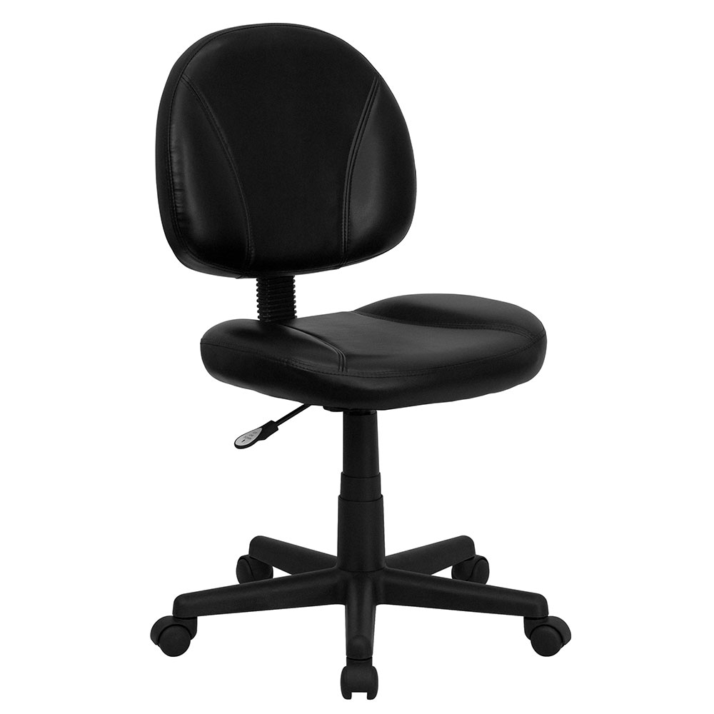 <font color=#c60>Save 50% w/Free Shipping!</font> Mid-Back Black Leather Ergonomic Swivel Task Chair BT-688-BK-GG <font color=#c60>Read More ... </font>