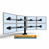 Monitor Stands And Arms: single, dual, triple, quad and multiple monitor applications.