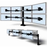 <b><font color=#C60>HERE'S A CONCEPT: MASTER YOUR MONITORS W/MONITOR STANDS AND ARMS OFFERED IN SINGLE, DUAL, TRIPLE, QUAD, AND MULTIPLE MONITOR APPLICATIONS.</b></font>