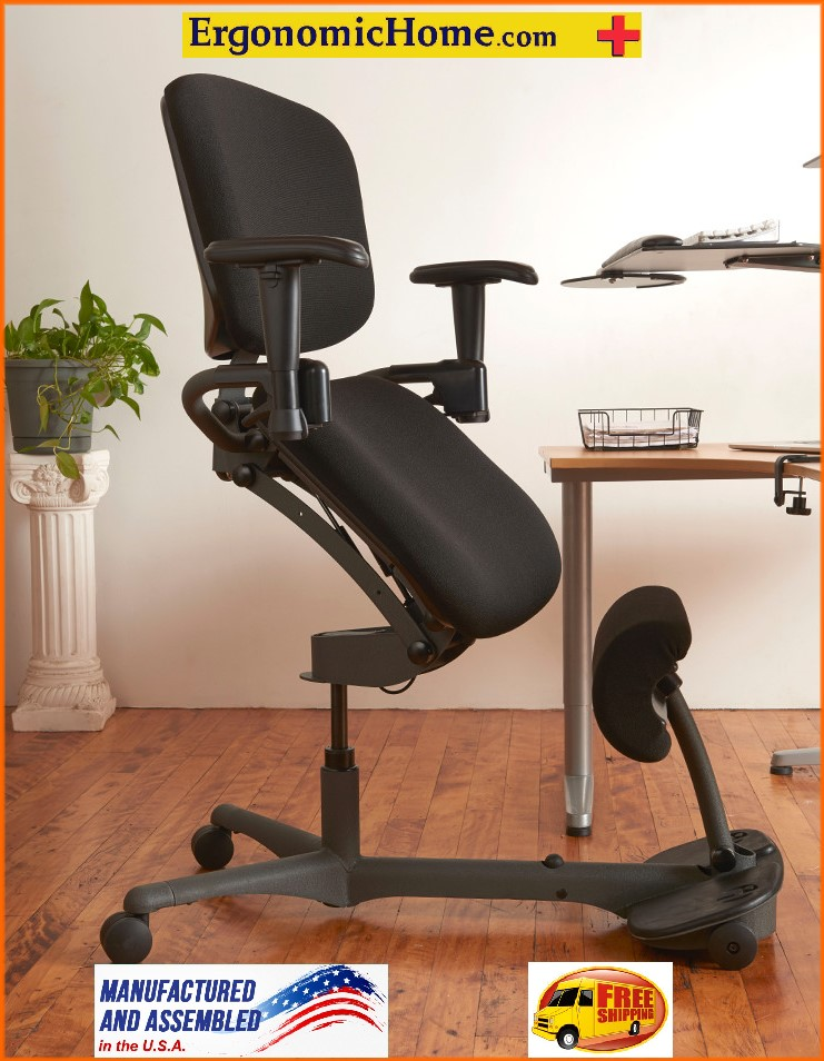 Health Postures Stance Angle Chair 5100 Pregnancy Office