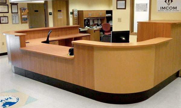 <b><font color=blue>Nurses Station | Medical Desk |  ADA Compliant Furniture:</b></font>