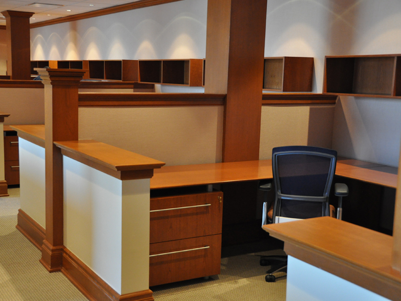 executive systems com desk workstations myofficeone workstation and wood furniture office veneer indiana