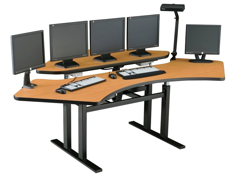</b></font>PACS System Furniture. Stand Up Desk #PACSCNR-7273. Each Surface Lifts 300 lbs W/Four Motors.</font> <p>RATING:&#11088;&#11088;&#11088;&#11088;&#11088;</b></font></b>