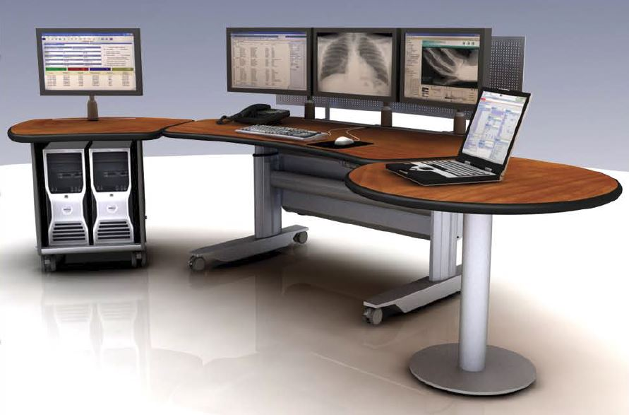 <b><font color=blue>PACS Workstation | Ergonomic Radiology Furniture | Telemetry Desks</b></font>