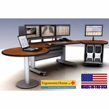 PACS Workstation | Ergonomic Radiology Furniture | Telemetry Desks