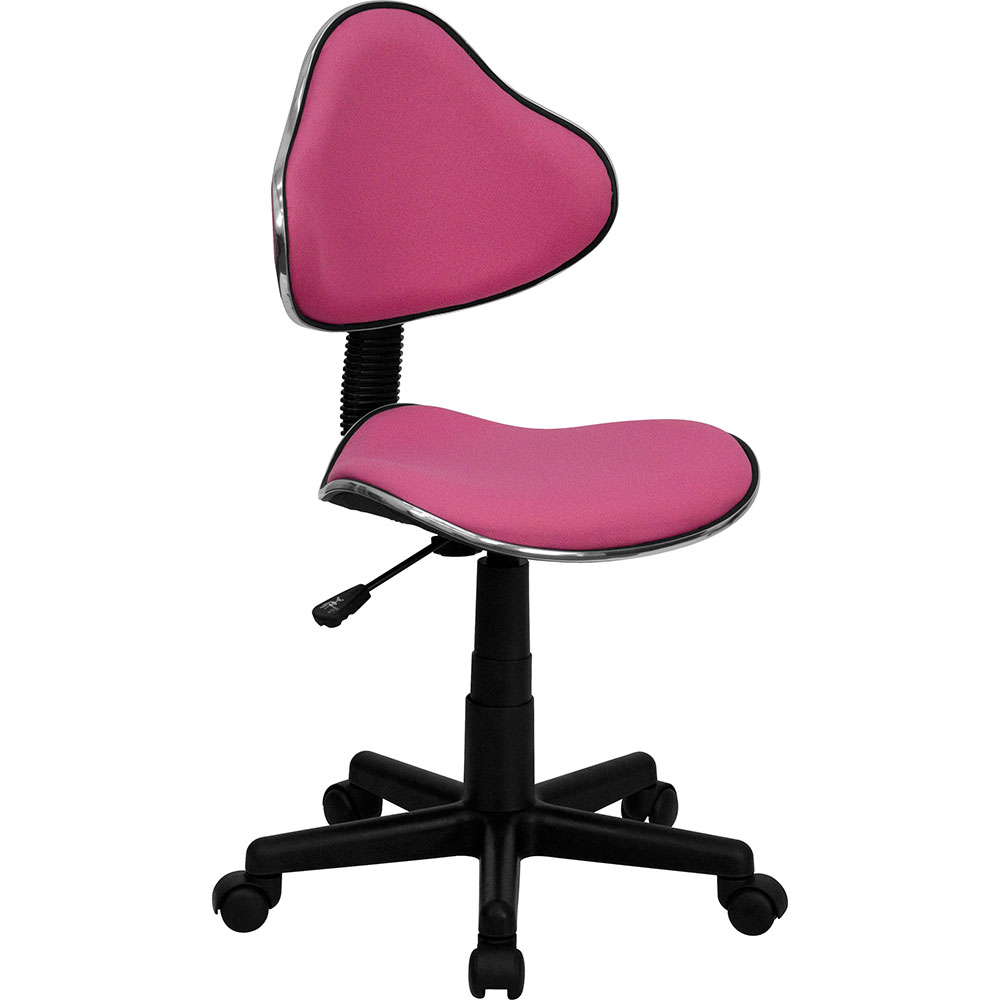 <font color=#c60>Save 50% w/Free Shipping!</font> Pink Fabric Ergonomic Swivel Task Chair BT-699-PINK-GG <font color=#c60>Read More ... </font>