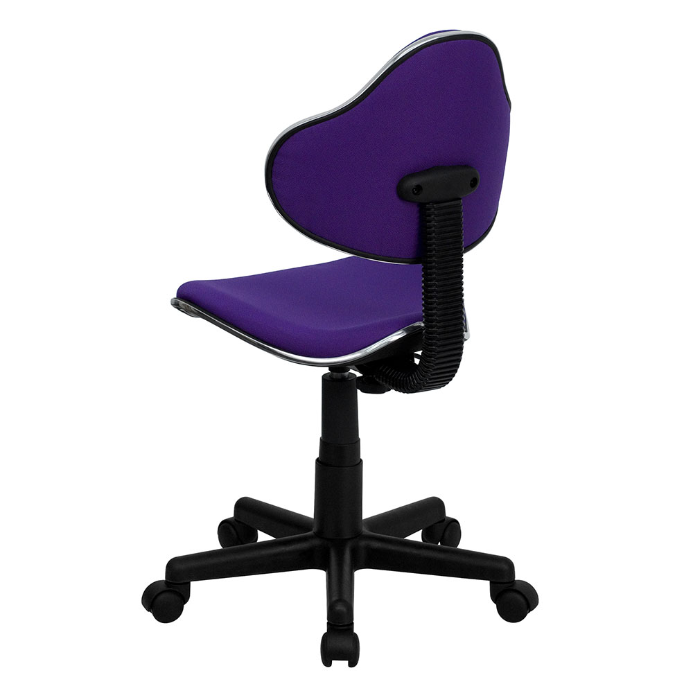 Ergonomic Home Purple Fabric Ergonomic Swivel Task Chair