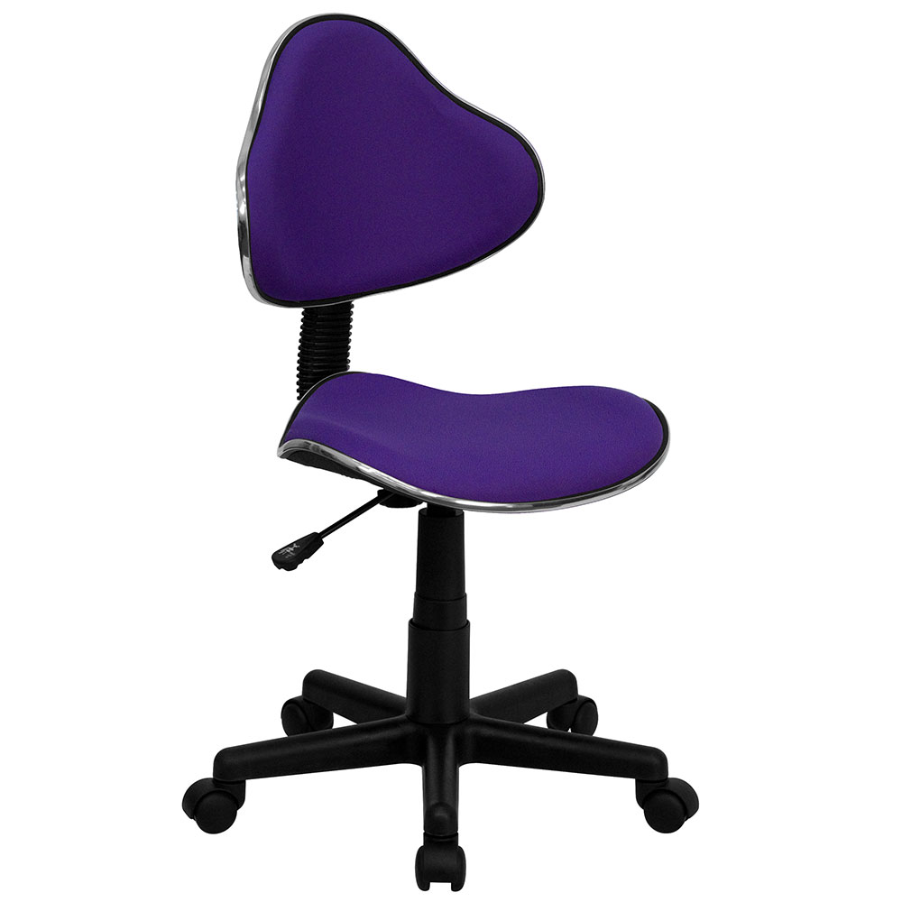<font color=#c60>Save 50% w/Free Shipping!</font> Purple Fabric Ergonomic Swivel Task Chair BT-699-PURPLE-GG <font color=#c60>Read More ... </font>