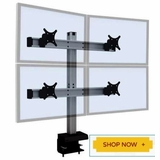 Quad Monitor Stand | Multiple Monitor Stand