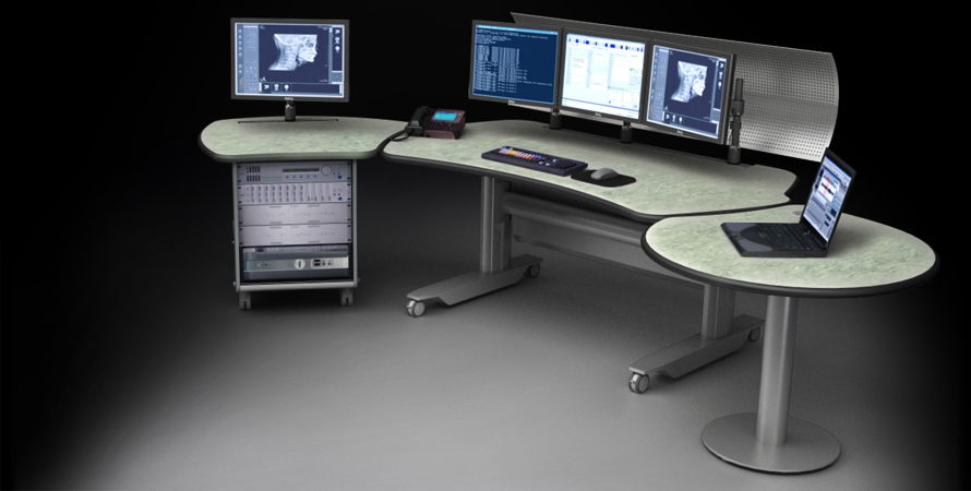 Pacs Workstation Ergonomic Radiology Furniture Imaging