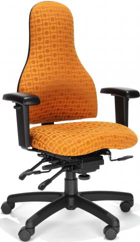 RFM Carmel High Back Managers Chair With Adjustable Arms