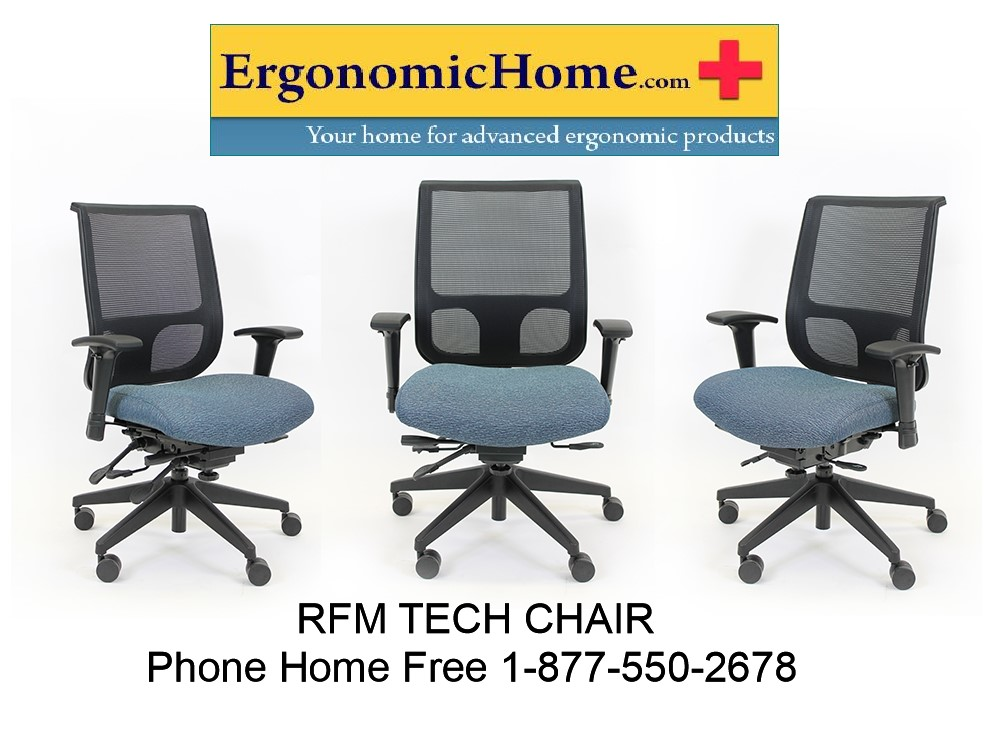 </b></font>RFM TECH Mesh Back Chair #1435Q-25A <b></font>. </b></font></b>