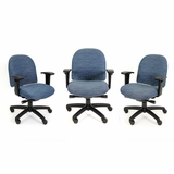 RFM ESD Anti Static Chair #4814-12ESD-ESD-Chrome. Includes ESD fabric, ESD drag chain, ESD gas cylinder, ESD casters and base. Read More Below: