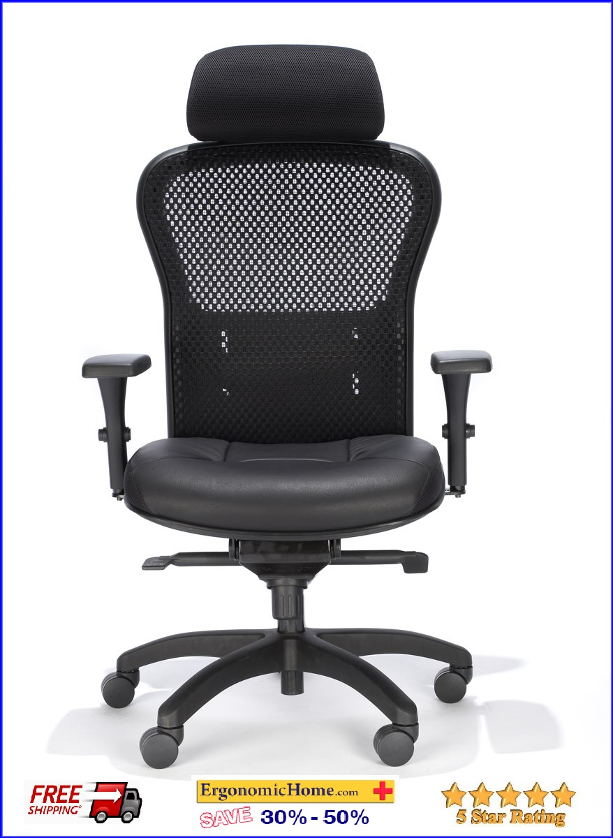 RFM Executive Mesh Chair w/Headrest #162Q-68 <b><font color=green>50% Off Read More Below...</font></b>