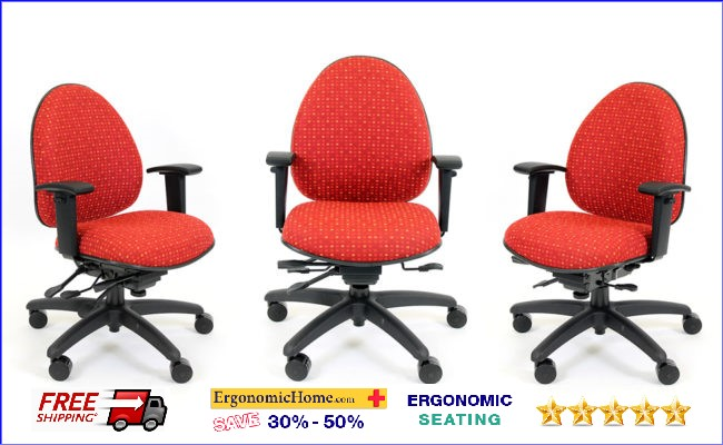 ErgonomicHome.com RFM Heavy Duty Chair #9806-25A. Supports 350 lbs. .
