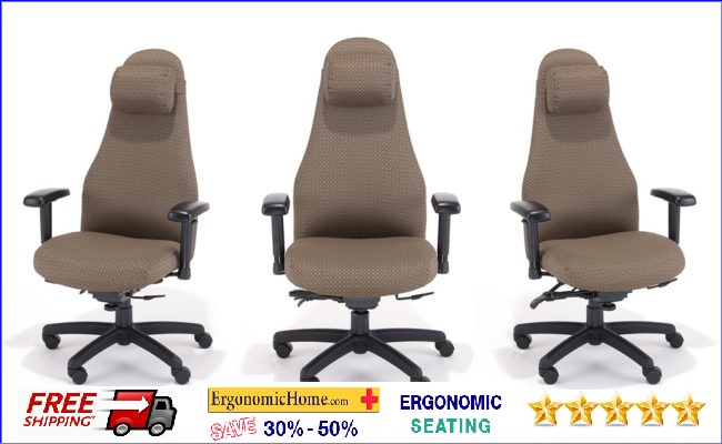 RFM Heavy Duty Chair Supports 300lbs. W/Neck Support Pillow #4898-25A .