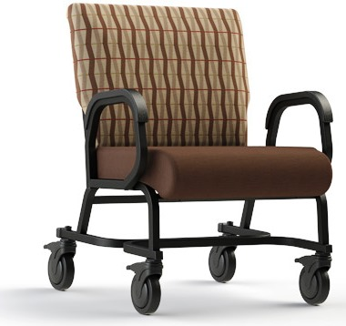 Comfortek Titan Bariatric Chair #941-24 w/Casters. Frame Rating 600 lbs! Read More Below. <b><font color=green>35% Off Read More Below...</font></b>