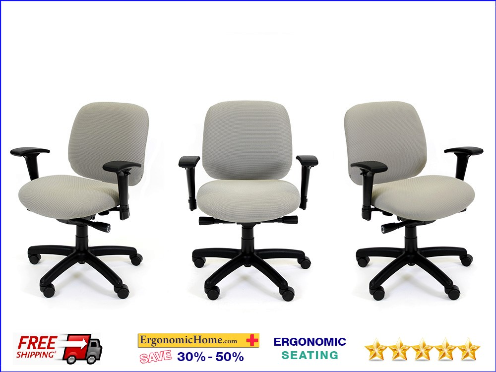 SMALL PETITE ERGONOMIC OFFICE CHAIR:| Customize this chair the way you want it. Read More Below.