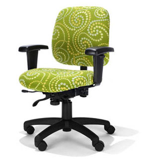 Green Desk Chairs small office chairs | petite office chairs | ergonomic home usa ca