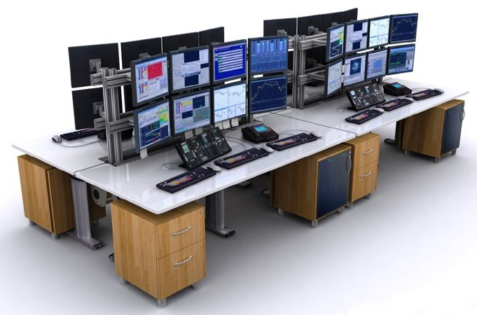 Control room consoles 911 dispatch furniture tbc Office furniture 911