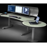 <font color=green><b>CLEAR DESIGN, TBC, VIKING: DISPATCH CONSOLES CONTROL ROOM FURNITURE - SIT STAND DESKS. FREE SHIPPING.</font></b>