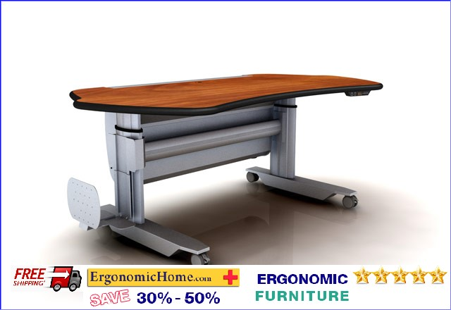 "</b></font>Ergonomic Home Adjustable Radiology Workstation #EHMT7-SL-E-L2. Dim: 88"" x 38""</font>. <p>RATING:&#11088;&#11088;&#11088;&#11088;&#11088;</b></font></b>"