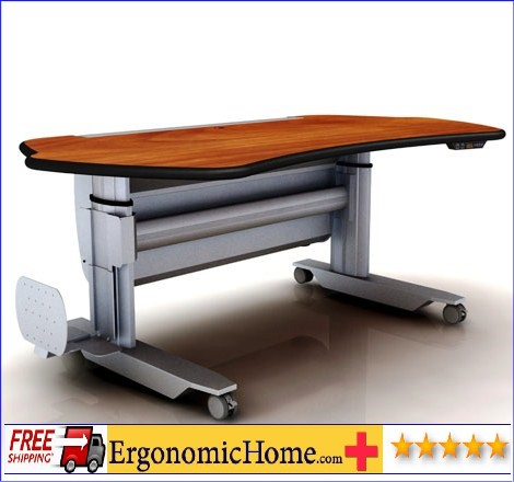"</b></font>ERGONOMIC HOME ADJUSTABLE PACS RADIOLOGY STAND UP DESK SHIPS IN 2 WEEKS IN #6005 SHARK GREY. #MT5-SL-E-L2. Dim: 67"" x 38"".</font> <p>RATING:&#11088;&#11088;&#11088;&#11088;&#11088;</b></font></b>"