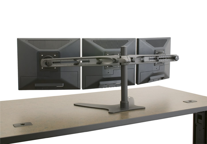 Triple Monitor Stand Multiple Monitor Stand Triple