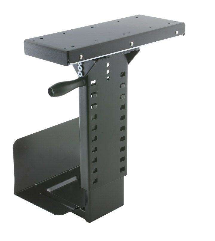 Under Desk Cpu Holder Cpu Mount Ergonomichome Com In