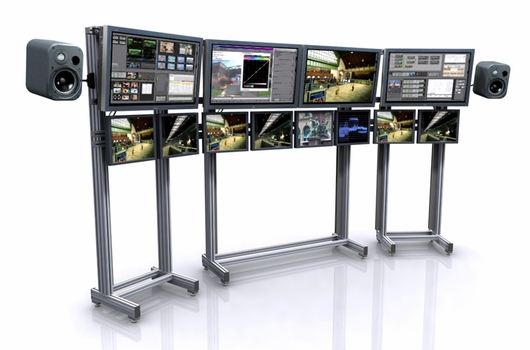 <font color=#c60><b>TBC VIDEO WALL - TV WALL MOUNT: IS AN EXCELLENT SYSTEM FOR ORGANIZING A WALL OF MONITORS.</font></b>