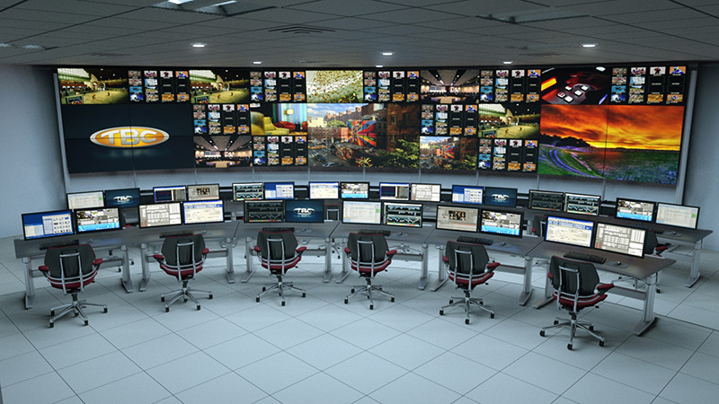 TBC VIDEO WALL - TV WALL MOUNT: IS AN EXCELLENT SYSTEM FOR ORGANIZING A WALL OF MONITORS: