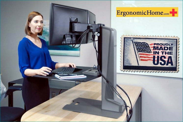 Innovative Winston Electric Motorized Monitor Stand #WNSTE-2-270
