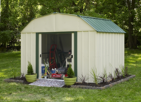 Outdoor storage shed with floor for Garden shed edinburgh sale