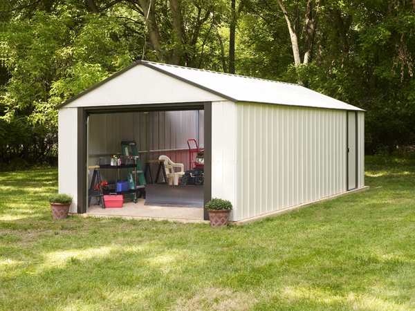 Storage shed free plans 10x12 plans bench around tree for Affordable garden sheds