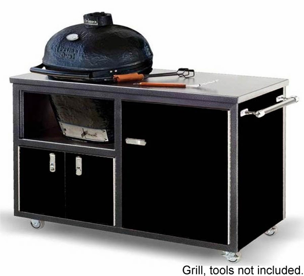 Challenger 54 Inch Ceramic Grill Cart For Primo Oval XL Grill