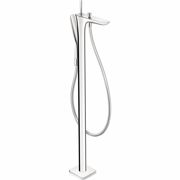 hansgrohe 15473001 puravida freestanding tub filler. Black Bedroom Furniture Sets. Home Design Ideas