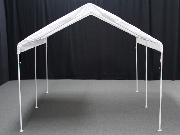 Shelter King Sheds : Home gt canopies portable garages motorcycle atv