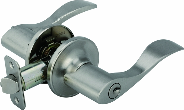 Legend 809117 Wave Style Lever Handle Entry Front Door Knob Leverset Lockset