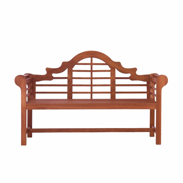 Lutyens Bench Dark Brown