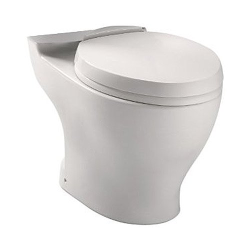 TOTO CT412F.10#01 Dual Flush Universal Height Toilet Bowl ...