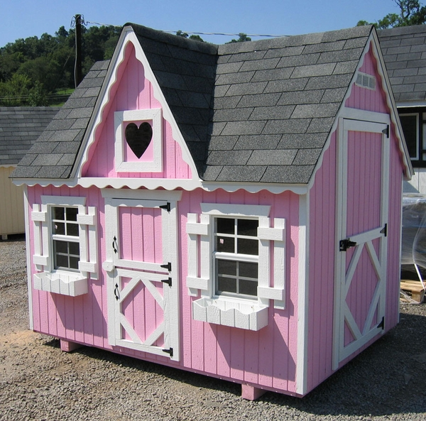 Victorian wooden outdoor playhouse kit 6 x 8 6x8 vp wpnk Outdoor playhouse for sale used